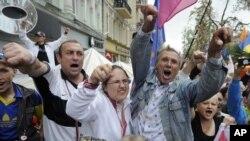 подржувачите на Тимошенко пред судот во Киев