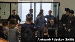 Tinerii condamnați în dosarul Seti, la tribunalul din Penza, 10 februarie 2020