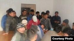 Ռուսաստան - Ղրղըզ միգրանտները Կրասնոդարում, մարտ, 2012թ.