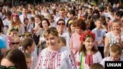«Мегамарш вишиванок» в Києві. 19 травня 2018 року