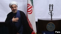 Iranian President Hassan Rohani has suggested the dispute over Irani's nuclear program could be resolved within six to 12 months.