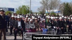 The opposition demonstration in Jalal-Abad on April 10 drew an estimated 5,000 people.