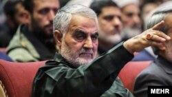 Касем Сулеймани, командующий силами «Кудс» в составе Корпуса стражей исламской революции.