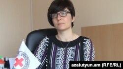 Կարմիր խաչի հայաստանյան ներկայացուցչության խոսնակ Զառա Ամատունի, արխիվ