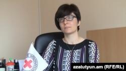Ответственная за коммуникационные программы армянской делегации МККК Зара Аматуни