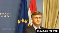 Хрватскиот премиер Андреј Пленковиќ
