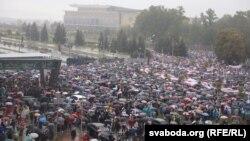 «Марш единства» в Минске.