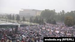 Минск шаарындагы «Биримдик жүрүшү»