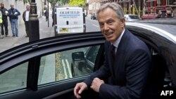 Бывший премьер-министр Великобритании Тони Блэр. Лондон, 6 сентября 2010 года.