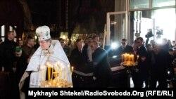 Вбитого російського екс-депутата поховали в Києві (фотогалерея)