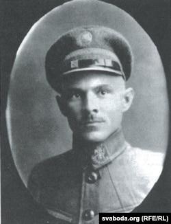 Алесь Гарун - намесьнік старшыні Беларускай вайсковай камісіі, 1920