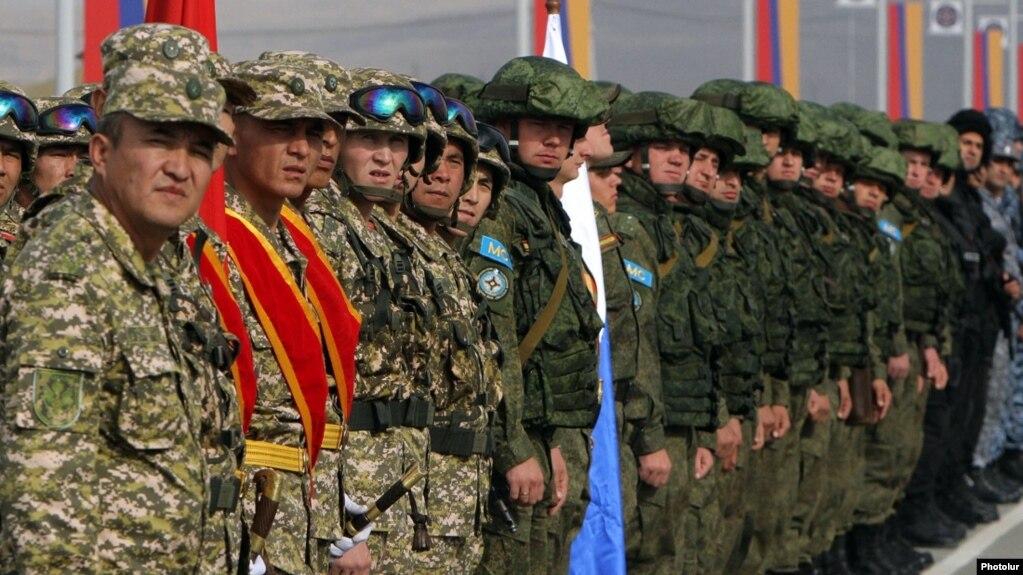 В октябре на территории Армении пройдут учения ОДКБ