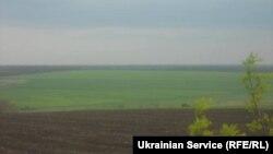 Поля в Волновахском районе Донецкой области