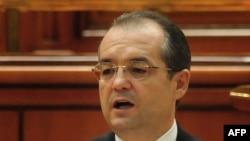 Romanian Prime Minister Emil Boc