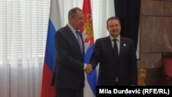 Rusija i Srbija bratske zemlje: Sergej Lavrov i Ivica Dačić