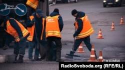 Ремонт доріг у Києві