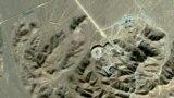 صورة جوية لمنشأة نووية إيرانية في قم
