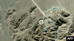Satellite image of the purported Qom facility made available to AFP on September 26, 2009 by Digitalglobe.