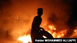 Тазоҳурот дар шаҳри Басра чунин ҳам шуд