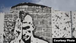 Bogota şəhərində qraffiti