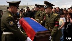 Sahrana jednog od poginulih vojnika Armenije