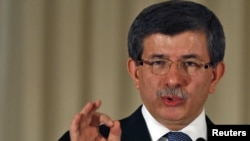 Turkey's Foreign Mininster Ahmet Davutoglu