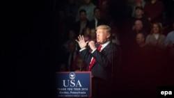 Presidenti i zgjedhur amerikan, Donald Trump.