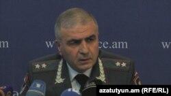 Первый заместитель начальника Полиции Армении Унан Погосян (архив)