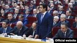 Рустам Имомали ҳозирда пойтахт Душанбе ҳокимидир.