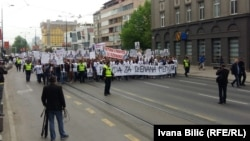 Protest u Sarajevu