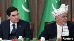ارشیف، د افغانستان او ترکمنستان ولسمشران