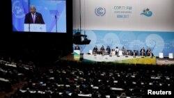 Pamje nga konferenca për klimën në Bon të Gjermanisë