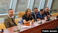 Українська делегація на сесії ПАРЄ у Страсбурзі, 23 січня 2017 року