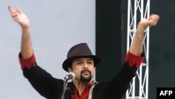 "Salman Ahmad, a Pakistani-American activist, rock star, UN goodwill ambassador, and author of the book ""Rock & Roll Jihad: A Muslim Rock Star's Revolution"""