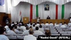 Собрание актива Фархорского района