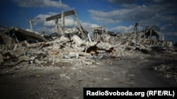 Ruins of the Luhansk airport