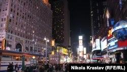 Нью-Йорктегі Таймс-сквер.