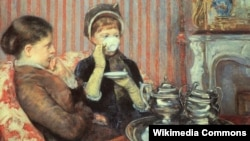 Мэры Касат, «Філіжанка гарбаты» (1880)