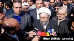 Head of Judiciary ayatollah Sadegh Larijani,