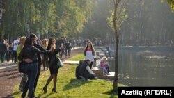 Stavljanje građana u prvi plan i poboljšanje kvaliteta života, krajnji su cilj postizanja statusa 'Zelenog grada'; ilustracija