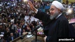 Президент Ирана Хасан Рухани, 23 апреля, 2017 года