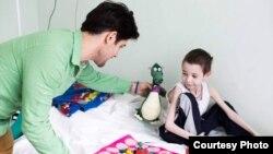 Дима Фортуна, 8-лет. Страдает тяжелой формой муковисцидоза