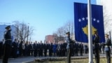 Pjesëtarët e FSK-së kanë ngritur flamurin në përvjetorin e 11-të të pavarësisë së Kosovës.