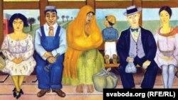 Фрыда Кало. Аўтобус (1929)