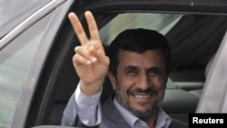 Iranian President Mahmud Ahmadinejad has said Iran's nuclear program is for peaceful purposes