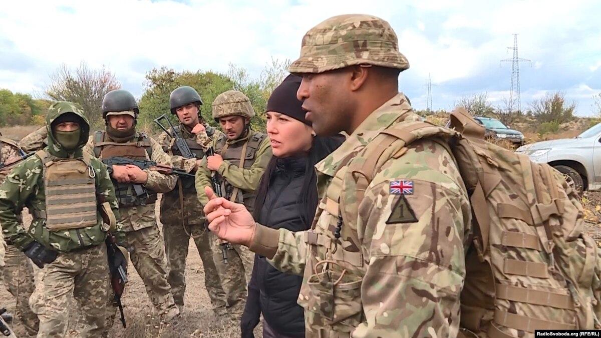 Как британские инструкторы тренируют украинских военных по стандартам НАТО. Эксклюзивный репортаж