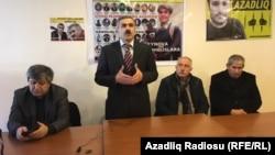 Siyasi Məhbusları Müdafiə Mərkəzinin toplantısı.