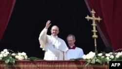 Vatikan, 27 mars 2016.