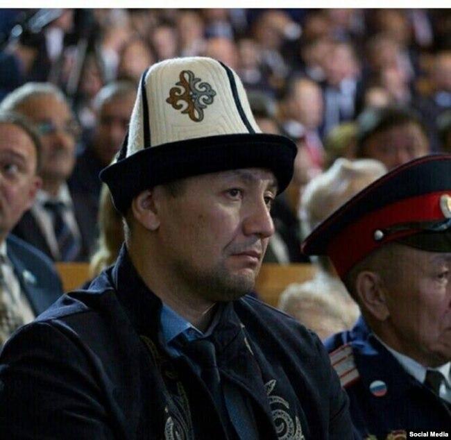 Якутскидеги кыргыз диаспорасынын башчысы Жазбек Бекболиев.