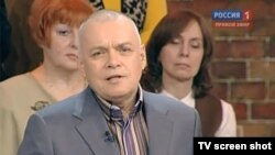 TV news anchor Dmitry Kiselyov will take over as Russia Today's general director.